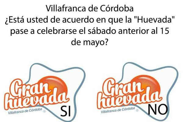 Villafranca de Córdoba convoca el referéndum de la Huevada.  ...