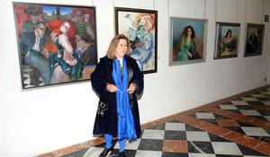 La pintora cordobesa Mª Teresa García expone en la Diputació ...