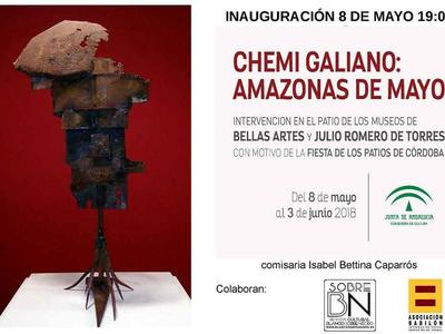 Chemi Galiano: Amazonas de Mayo. Fiesta de los Patios de Cór ...